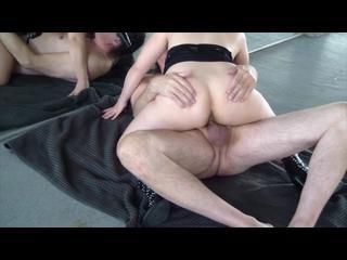 Oralsex, Brünett, Langhaarig, Paar, Posing, Reiten, Sex
