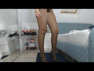 Beine, Fetisch, Fussfetisch, Girl, High-Heels, Nylons, Posing, Solo