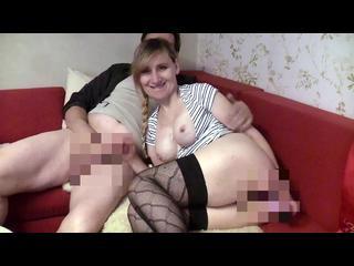 Schwanzlutschen, Reiten, Selbstbefriedigung, Sex, Muschilecken, teilrasiert, Riesenschwanz